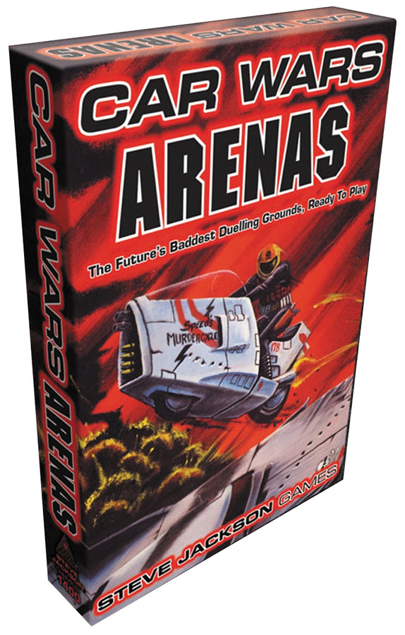 Car Wars Classic: Arenas Expansion Box Front