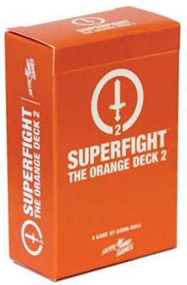 Superfight: The Orange Deck 2 Box Front