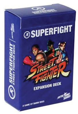 Superfight: The Street Fighter Deck Box Front