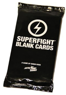 Superfight: Blank Cards Box Front