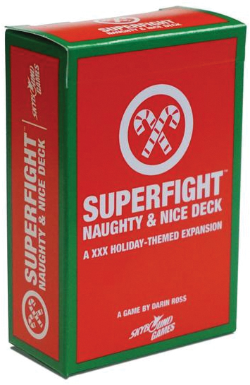 Superfight: The Naughty & Nice Deck Box Front