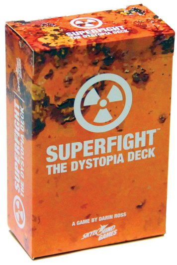 Superfight: The Dystopia Deck Box Front