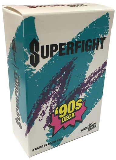 Superfight: The `90s Deck Box Front