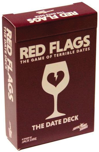 Red Flags: Date Deck Box Front