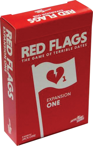 Red Flags: Expansion One Box Front