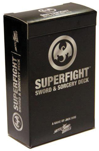 Superfight: The Sword & Sorcery Deck Box Front