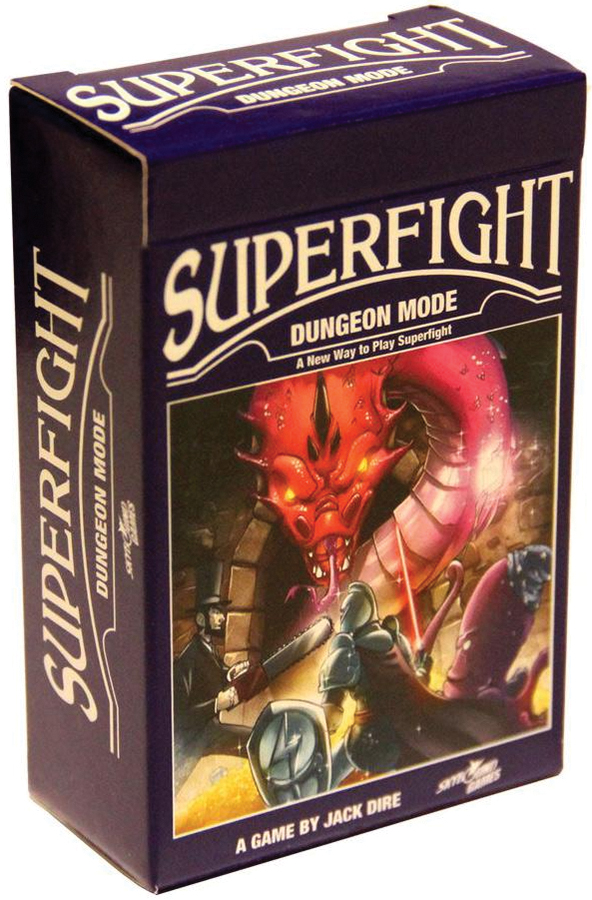 Superfight: Dungeon Mode Box Front