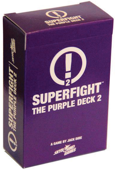 Superfight: The Purple Deck 2 Box Front
