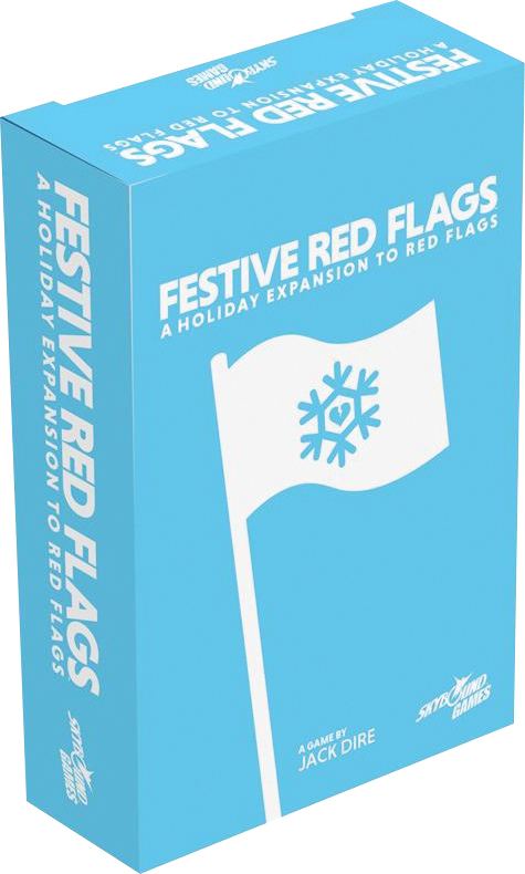 Red Flags: Festive Red Flags Box Front