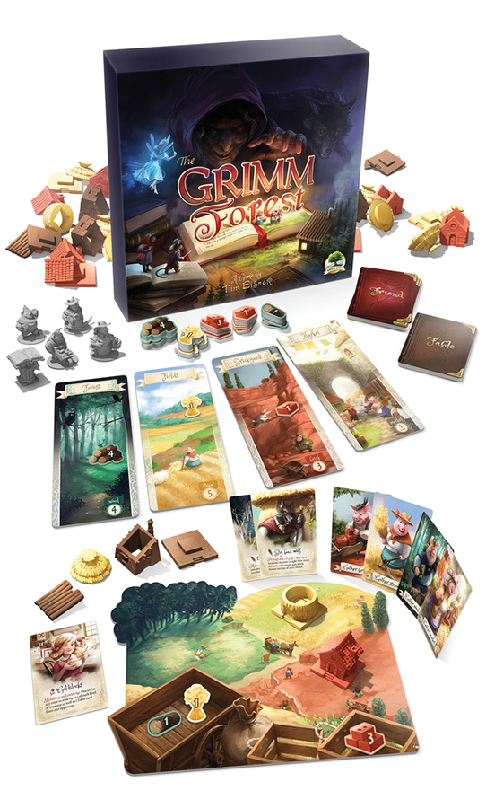 The Grimm Forest Box Front