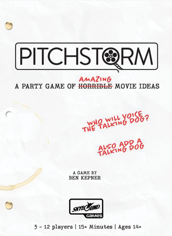 Pitchstorm Game Box