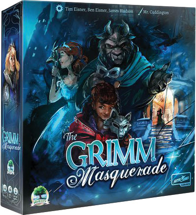 The Grimm Forest: The Grimm Masquerade Game Box