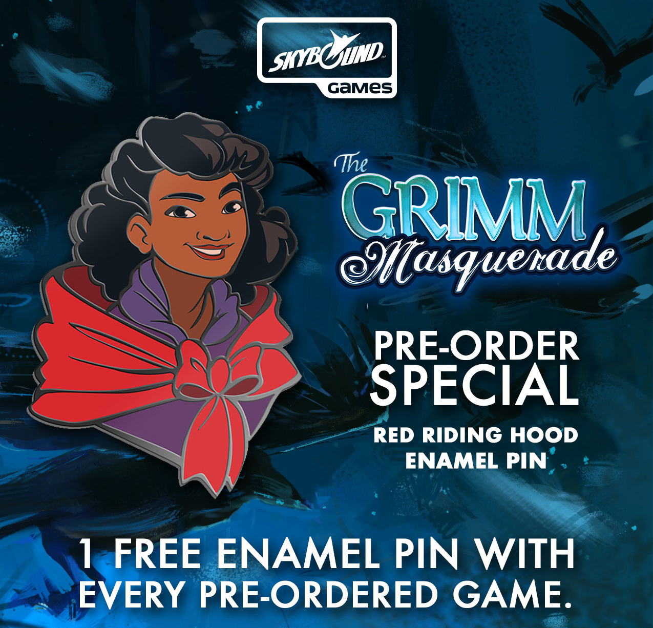The Grimm Forest: The Grimm Masquerade `red Riding Hood` Promo Game Box