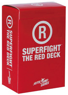 Superfight: The Red Deck Box Front