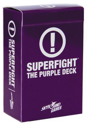 Superfight: The Purple Deck Box Front