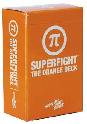 Superfight: The Orange Deck Box Front