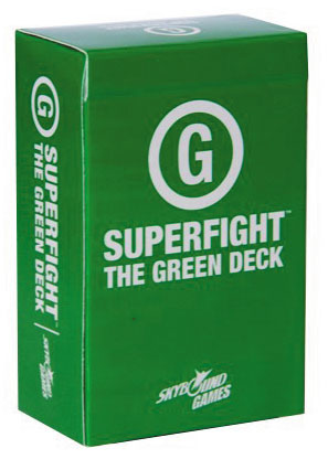 Superfight: The Green Deck Box Front