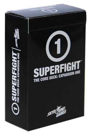 Superfight: The Core Deck Expansion One Box Front
