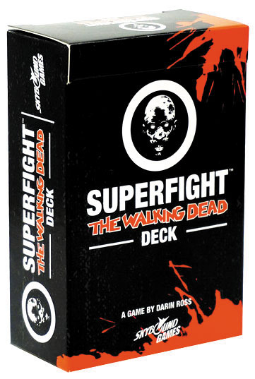 Superfight: The Walking Dead Deck Box Front