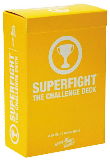 Superfight: The Challenge Deck Box Front