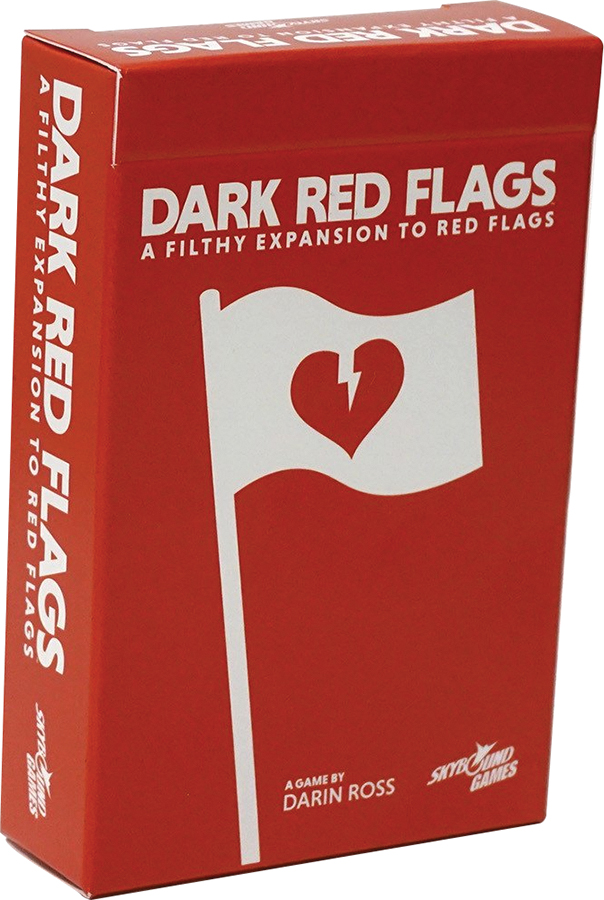 Red Flags: Dark Red Flags Box Front