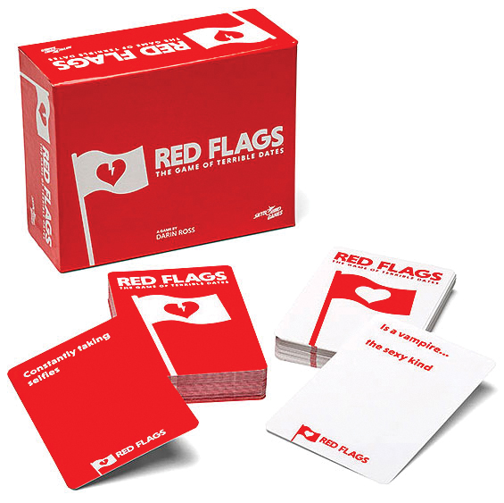 Red Flags: Core Game Box Front