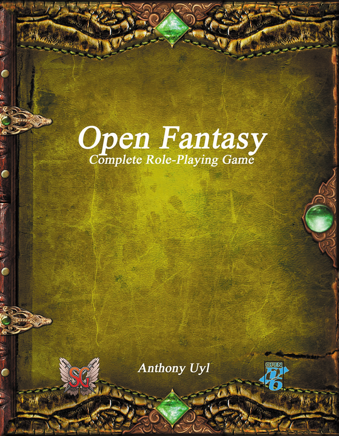 Open Fantasy: Complete Role-playing Game Box Front