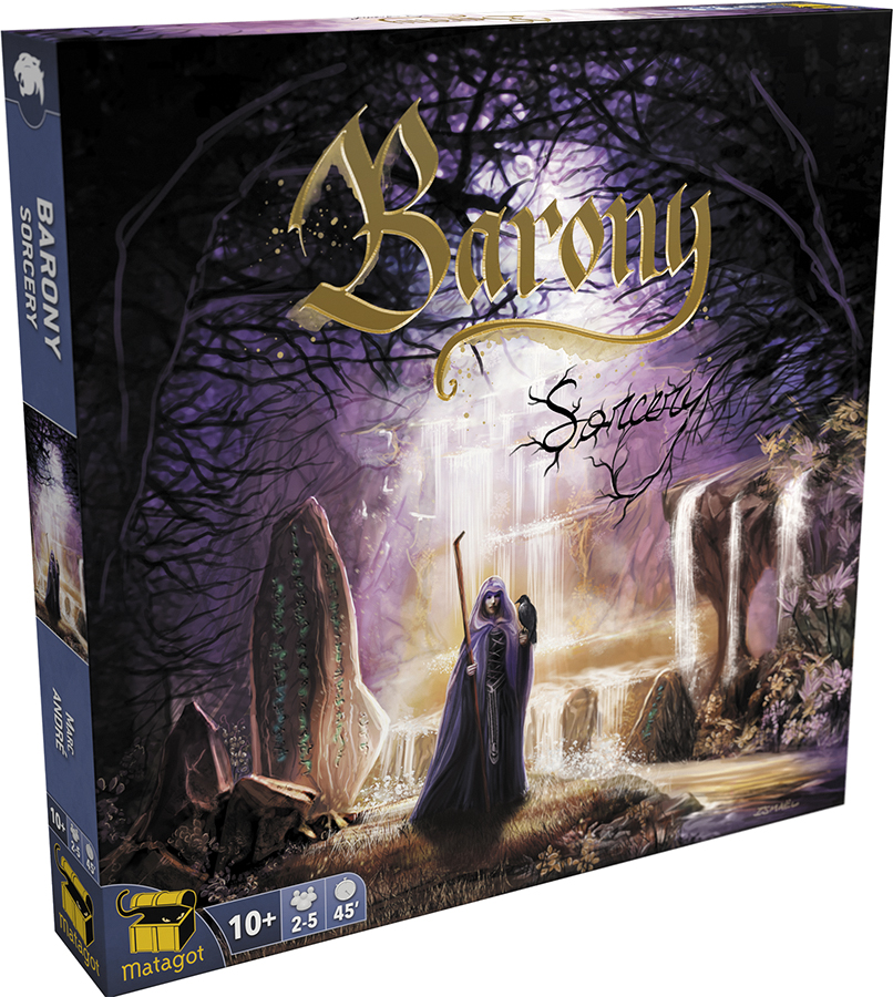 Barony: Sorcery Expansion Box Front