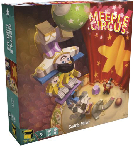 Meeple Circus Box Front
