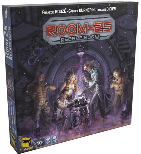 Room-25: Escape Room Expansion Box Front