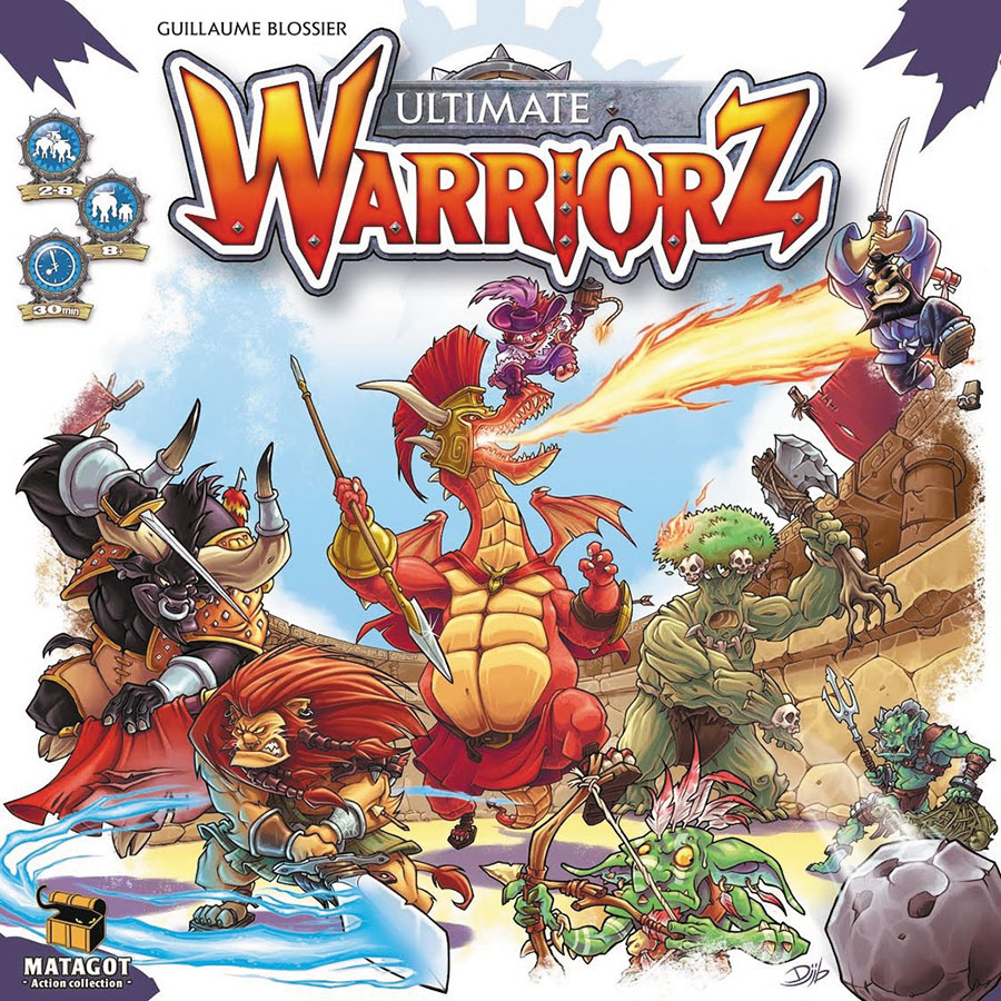 Ultimate Warriorz Box Front