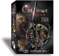 Cutthroat Caverns: Relics And Ruin Expansion 2 Box Front