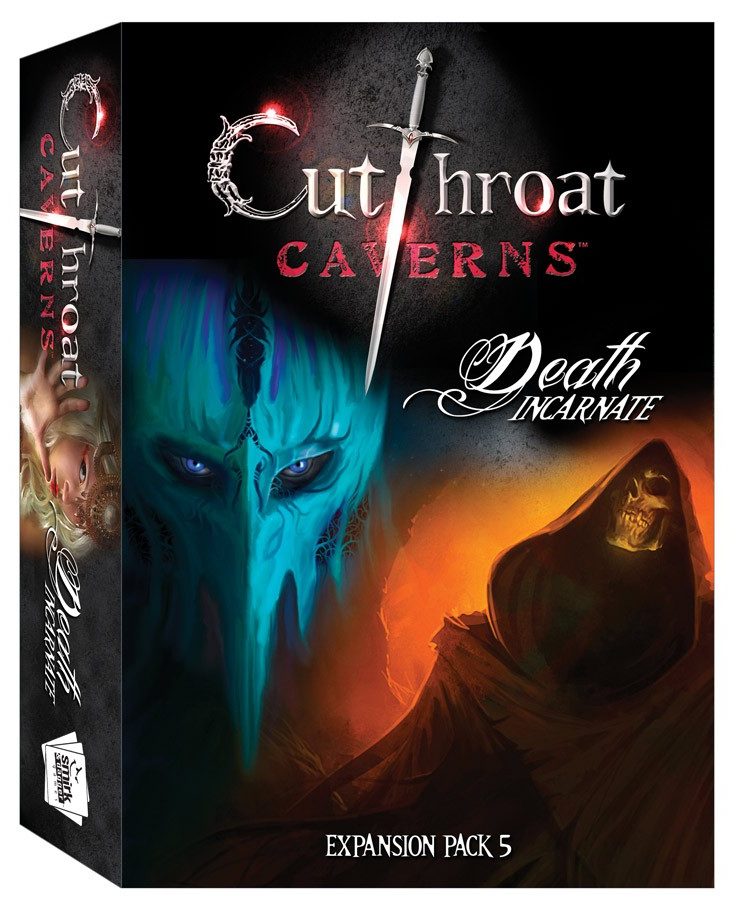 Cutthroat Caverns: Death Incarnate Expansion 5 Box Front