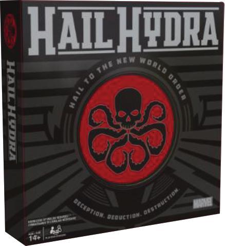 Marvel Hail Hydra Box Front