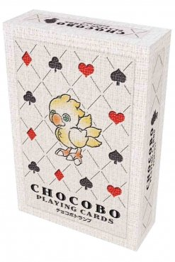 Chocobo Playing Card Deck Game Box