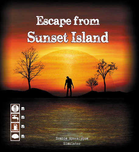 Escape From Sunset Island Box Front