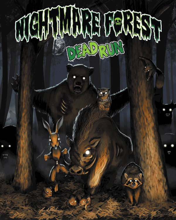 Nightmare Forest: Dead Run Box Front