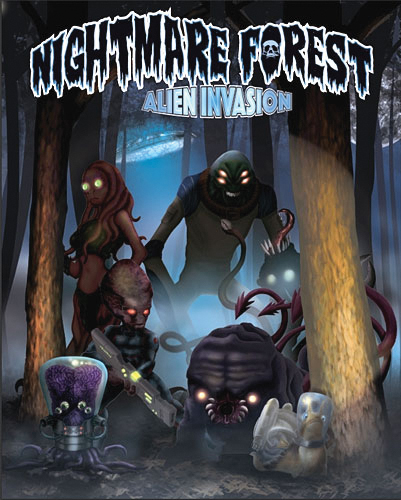 Nightmare Forest: Alien Invasion Box Front