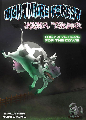 Nightmare Forest: Udder Terror Box Front
