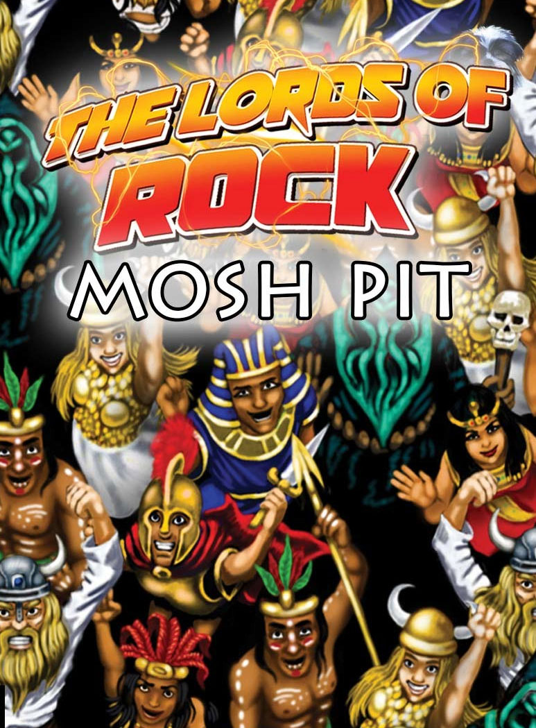 Lords Of Rock: Mosh Pit Box Front