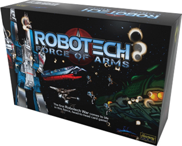 Robotech: Force Of Arms Card Game Box Front