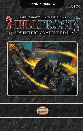 Savage Worlds Rpg: Hellfrost - Adventure Compendium 4 Box Front
