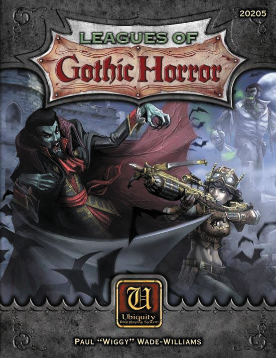 Ubiquity Rpg: Leagues Of Gothic Horror Box Front