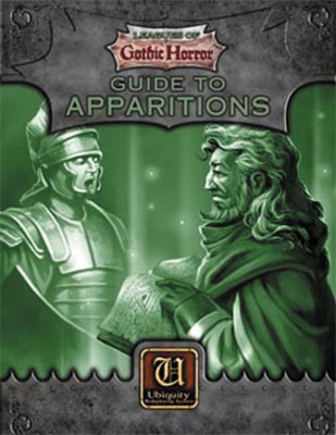 Ubiquity Rpg: Leagues Of Gothic Horror - Guide To Apparitions Box Front