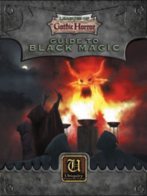 Ubiquity Rpg: Leagues Of Gothic Horror - Guide To Black Magic Box Front
