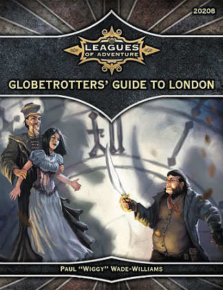 Ubiquity Rpg: Leagues Of Adventure - Globetrotters` Guide To London Box Front