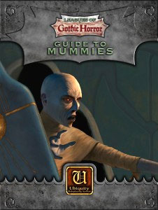 Ubiquity Rpg: Leagues Of Gothic Horror - Guide To Mummies Box Front