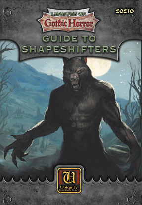 Ubiquity Rpg: Guide To Shapeshifters Box Front