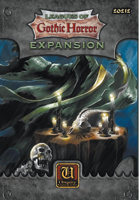Ubiquity Rpg: Leagues Of Gothic Horror - Expansion Box Front