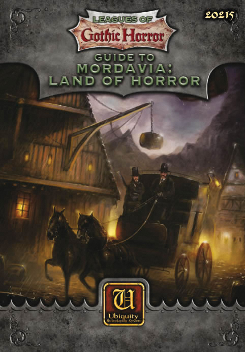 Guide To Mordavia: Land Of Horror Box Front